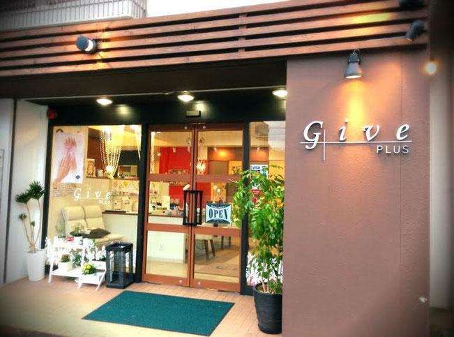 GIVE plus 桃谷店